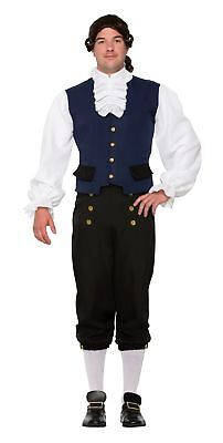 British Alexander Goodman Costume Colonial Mens Naturalist Historical Std](White Goodman Costume)