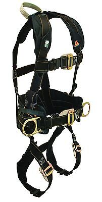 Falltech Arc Flash Electrician Belted Full Body Safety Harness Side D Ring Large