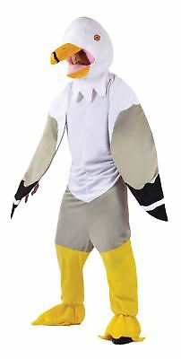 Adult Unisex Animal Fancy Dress Party Outfit Seagull - Seagull Kostüm
