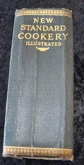 Vintage antique Cooking Cook Book New Standard Cookery Illustrate Edge Hill Cairns City Preview