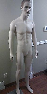Male Mannequins Display Men Suit Formal Full Body Dress Form Manikin - 6ft Tall