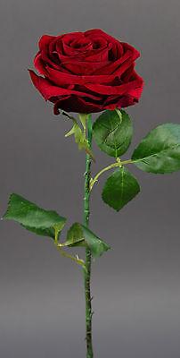 Baccararose 54cm rot CG Kunstblumen Seidenblumen künstliche Blumen Baccara-Rose