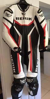 Berik FACTOR 1 piece Lether Race suit CE protection