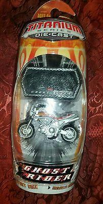 Ghost Rider Titanium Series Johnny Blaze Stunt