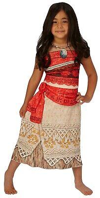 Rubies 3630511 - Vaiana Classic Kinder Kostüm, Gr. S M L, Kleid oder - Rubies Kostüm Kinder Perücke