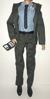 Barbie 25th Anniversary X-Files Agent Fox Mulder Ken Doll Outfit Suit Shoes NEW](Doll Suit)
