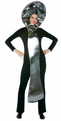 Silverware Spoon Adult Costume Poly Foam Tunic Halloween Dress Up Rasta Imposta - Spoon Costume