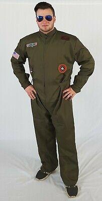 Kostüm Pilot Overall Gr. M - - Pilot Overall Kostüm