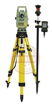 Leica Tcra1105 Robotic Surveying Total Station Packagetrimblesokkiatopcon