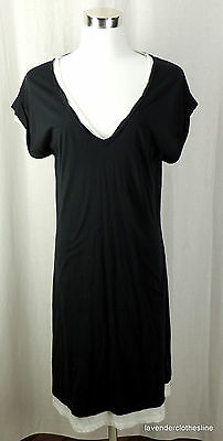 Eden Park For Her Size 2 Fits M - XL  Double Layer Tee  Lounge Dress Cover Up