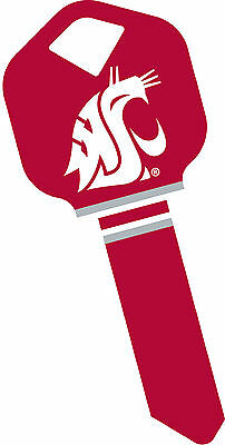 Washington State Cougars Key (Washington State University WSU Cougars Cougar WAZZU Key Blank for Kwikset KW1 )