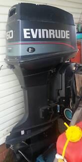 Evinrude 60hp boat outboard motor
