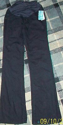 NEW Old Navy Rockstar Flare Black Maternity Jeans,Size 1,Cotton/Spandex Stretch
