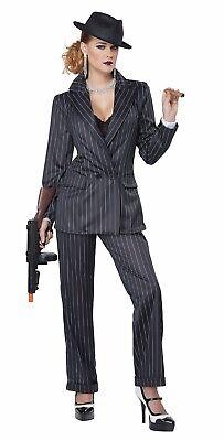 Adult Ms. Mobster Mafia Gangster Costume ](Adult Gangster Costumes)