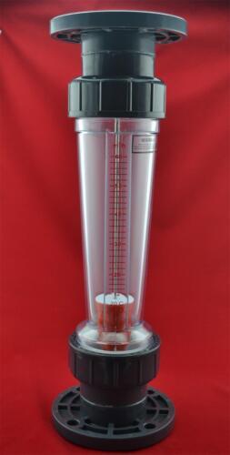 LZS-100 DN100 Pipeline water rotameter LZS plastic tube type flowmeter  flange