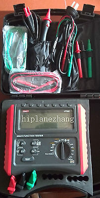 Rcd Loopline Impedance Insulation Resistance Earthing Continuity Volt Meter