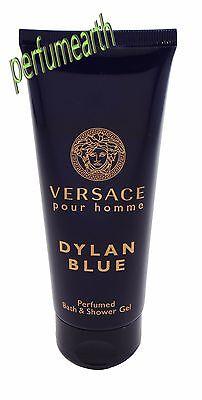 Versace  Pour Homme Dylan Blue  3.3/3.4 oz Bath & Shower Gel For Men New & Unbox