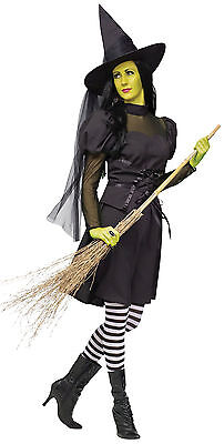 Ms. Wick'd- Adult Women's Witch Costume/Available in Junior's/Women's/Plus Size