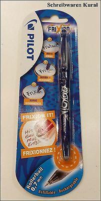 Pilot Frixion Ball Pen Rollerball 0,7mm Blau Tintenroller Radierstift Neu