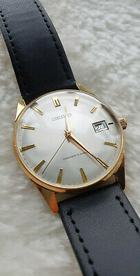 Seiko 6602 1990. Gold plated hand wind 17Jewel diashock. Oct 1967. Lovely.