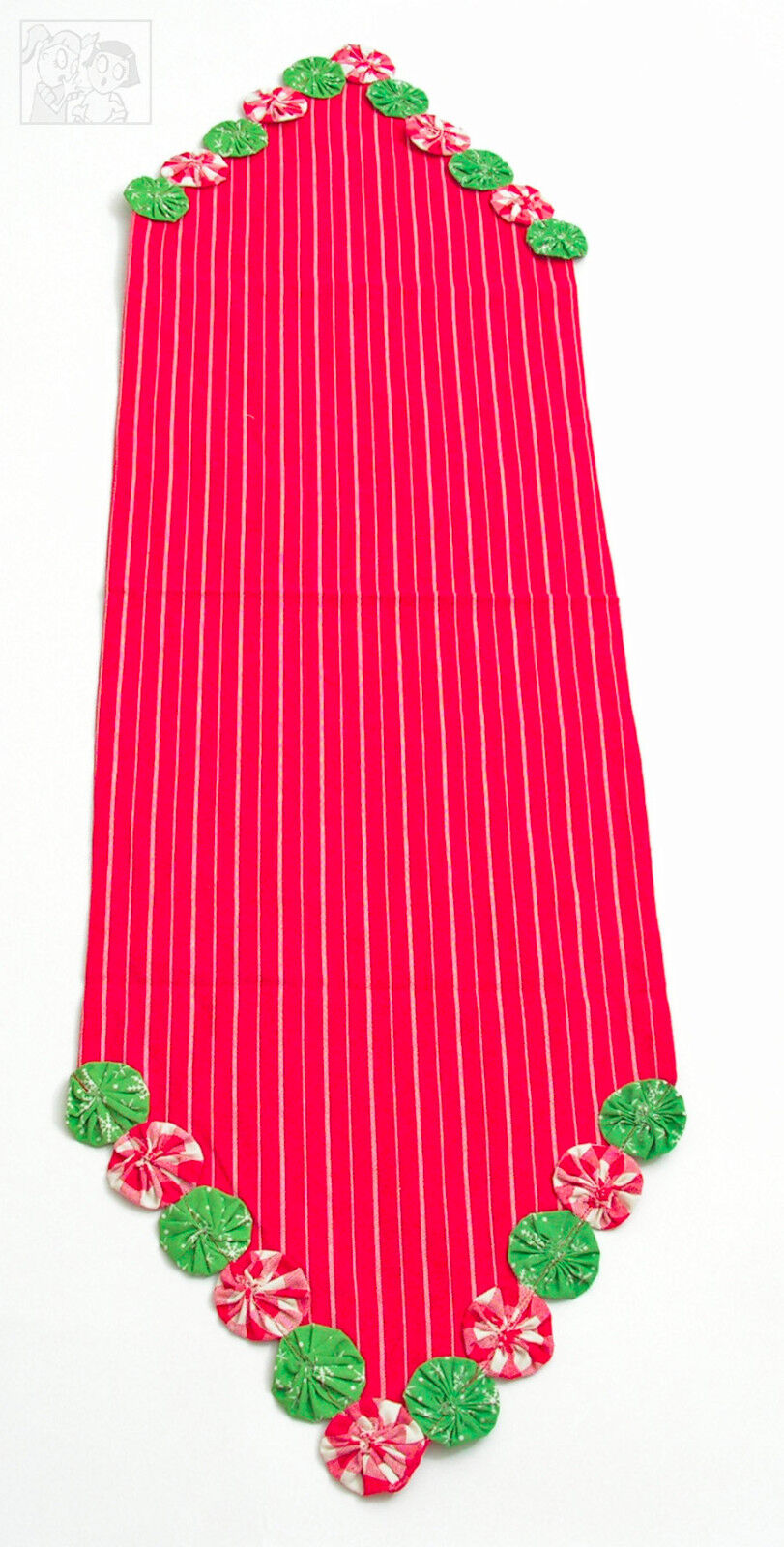 """Table Runner 48"""" L  - YoYo Christmas by Park Designs - Holid"""