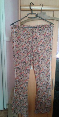 Pantalon fluide imprimé taille 1