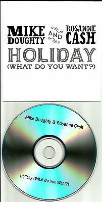 Soul Coughing Mike Doughty   Rosanne Cash Holiday Uk Promo Dj Cd Single 2011