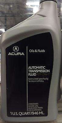 Genuine Oem Acura Honda Transmission Fluid Atf Dw 1 3 4 6 8 Qt  Pkg