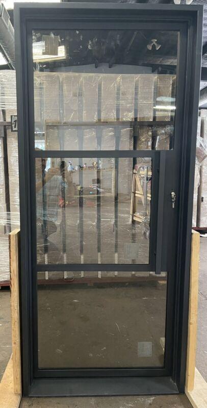 """Wrought Iron single door 34"""" X 81"""" , Modern Wrought Iron Door"""