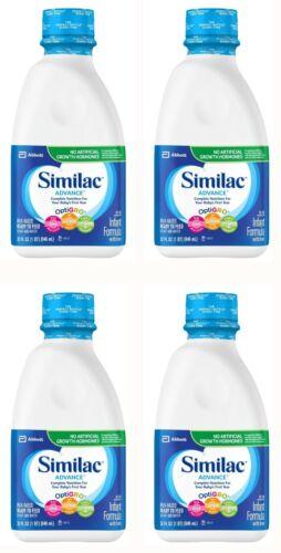 Similac Advance Infant Formula with Iron (32 oz.) EXP 3/22 - Lot of 4 New Sealed