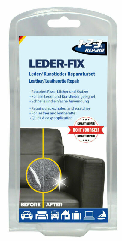 123Repair Repair Set Leather And Leatherette, Scratch Fire Remover, Couch