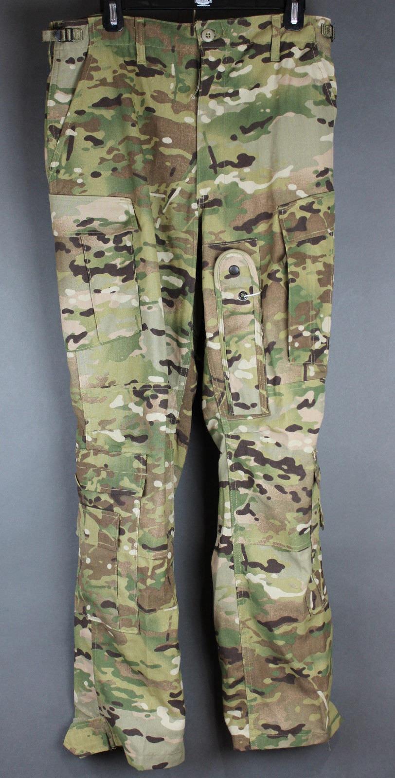 6dfacb57b54bb Details about EUC GI Genuine Multicam OCP Army Aircrew A2 Uniform Trousers  Pants, Asst. Sizes