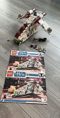 LEGO Star Wars Republic Gunship LAAT (7676) 100% complete with Manuals