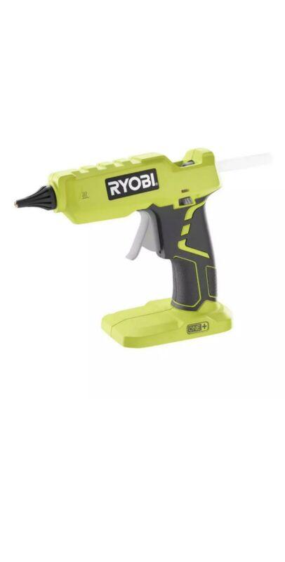 RYOBI Cordless Full Size Glue Gun 18-V LED On/Off with 3 Glue Sticks (Tool-Only)