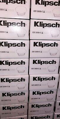 *NEW* Klipsch CDT-3650-C II In-Ceiling Speaker (Each)