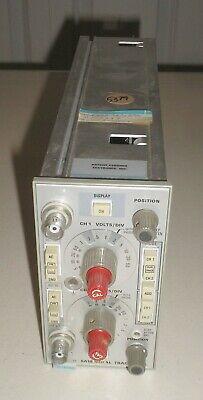 Tektronix 5a18n Dual-trace Amplifier Plug In Module