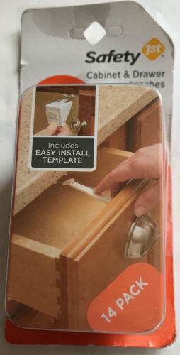 Safety 1st Baby Cabinet & Drawer Latches - 14 Pack - #48390