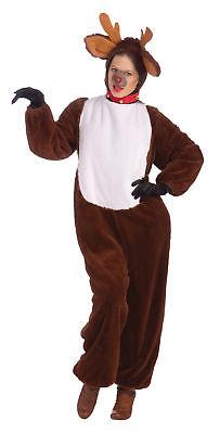 Rentier Weihnachten Tier Unisex Kostüm Urlaub Rudolph - Rudolph Rentier Kostüm