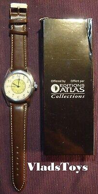 Eaglemoss Military Watch Series replica style Wristwatch WWI