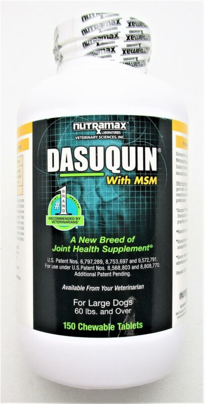 Nutramax Dasuquin with MSM Chewables, Large Dog, 150 Count Exp 10/2022