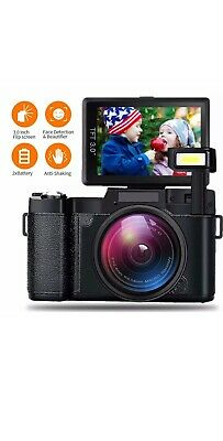 Video Camera Digital Camera Vlogging Camera 1080P 4X Zoom