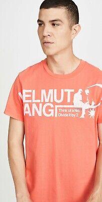 NWT Helmut Lang Pelvis Think Of A Number T Shirt choose Sz M, L or XL