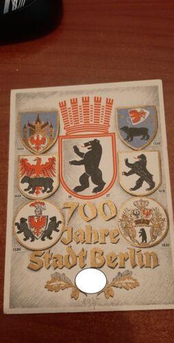 POSTCARD GERMAN  700 year  berlin  Colour !!