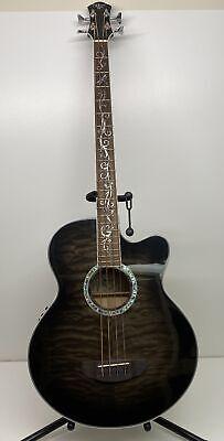 Michael Kelly MKDF4SKB Dragonfly 4-String Acoustic Electric Bass Guitar