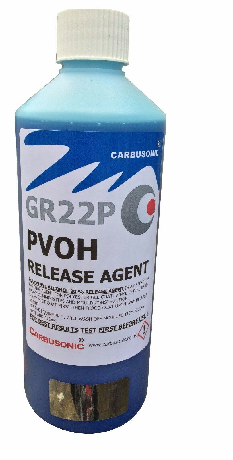 PVA mould release agent polyvinyl alcohol mould release agent gloss finish 1LT