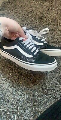 womens old skool vans size 5