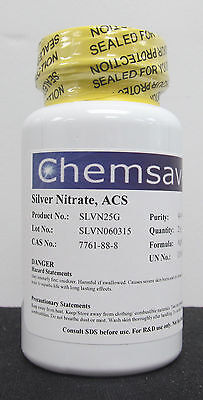 Silver Nitrate Acs 99.9 25g