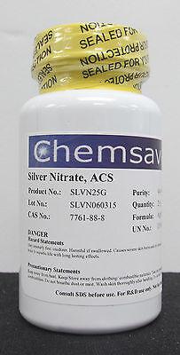 Silver Nitrate Acs 99.9 25g