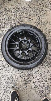 Set of 4x100/4x110 15 inch wheels
