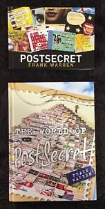 'Postsecret' Books, Frank Warren Belmont Lake Macquarie Area Preview